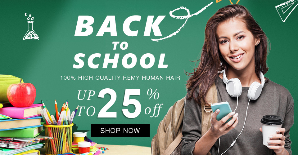 2018 back to school on sale at market hair extension