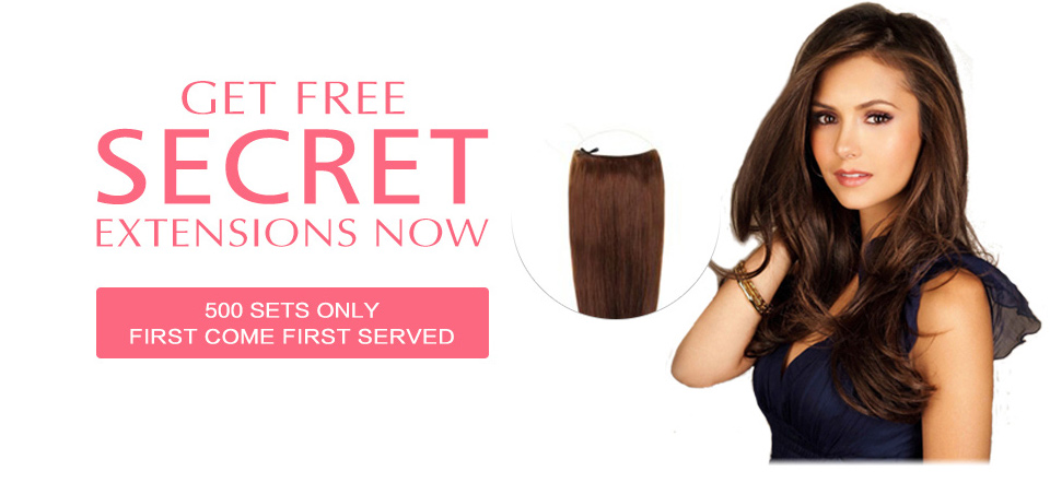2018 Happy Valentines Day Hair Extensions Sale Free Secret