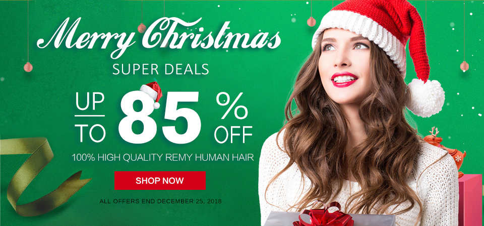 Christmas Hair Extensions Sale